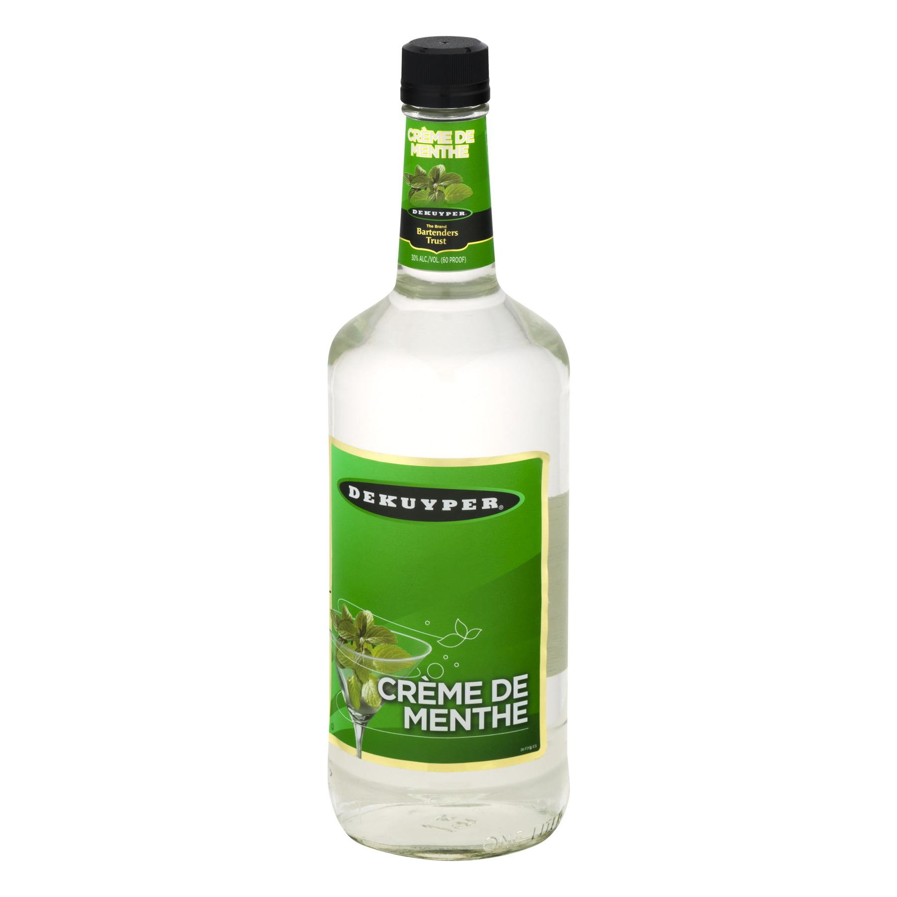Plant De Menthe En Pot dekuyper liquer dek creme de menthe white 1l - walmart