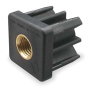 S & W TE1-2B Square Tube End, 1/2-13 Thread