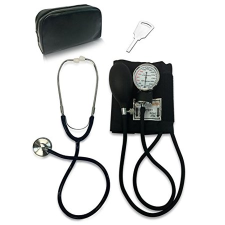 Primacare DS-9197-BK Manual Professional Blood Pressure Kit, Black with Stethoscope - image 1 of 1