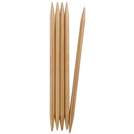 ChiaoGoo Bamboo Double Point Knitting Needles, 6