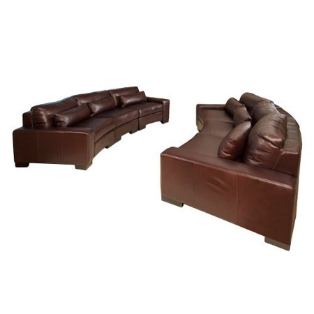 Elements Loft Top Grain Leather Sectional Left Arm Facing Chairs 559 Product Photo