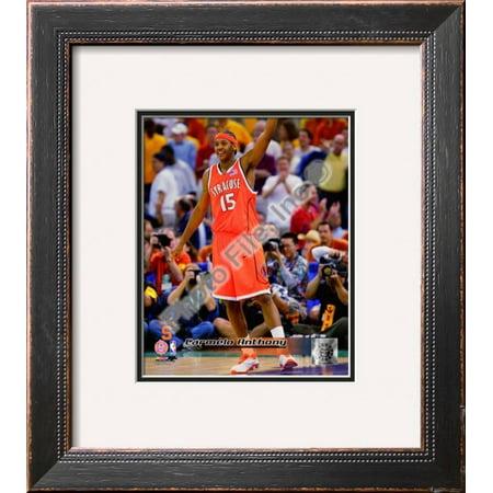 Carmelo Anthony Syracuse University Orangeman Framed Photographic Print Wall Art  - 16x18
