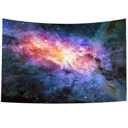 Meigar Universe Galaxy Star Tapestry Space Nebula Celestial Print Wall Hanging Bedroom Living Room Dorm Carpet Decor 58''x40''](Galaxy Room Ideas)
