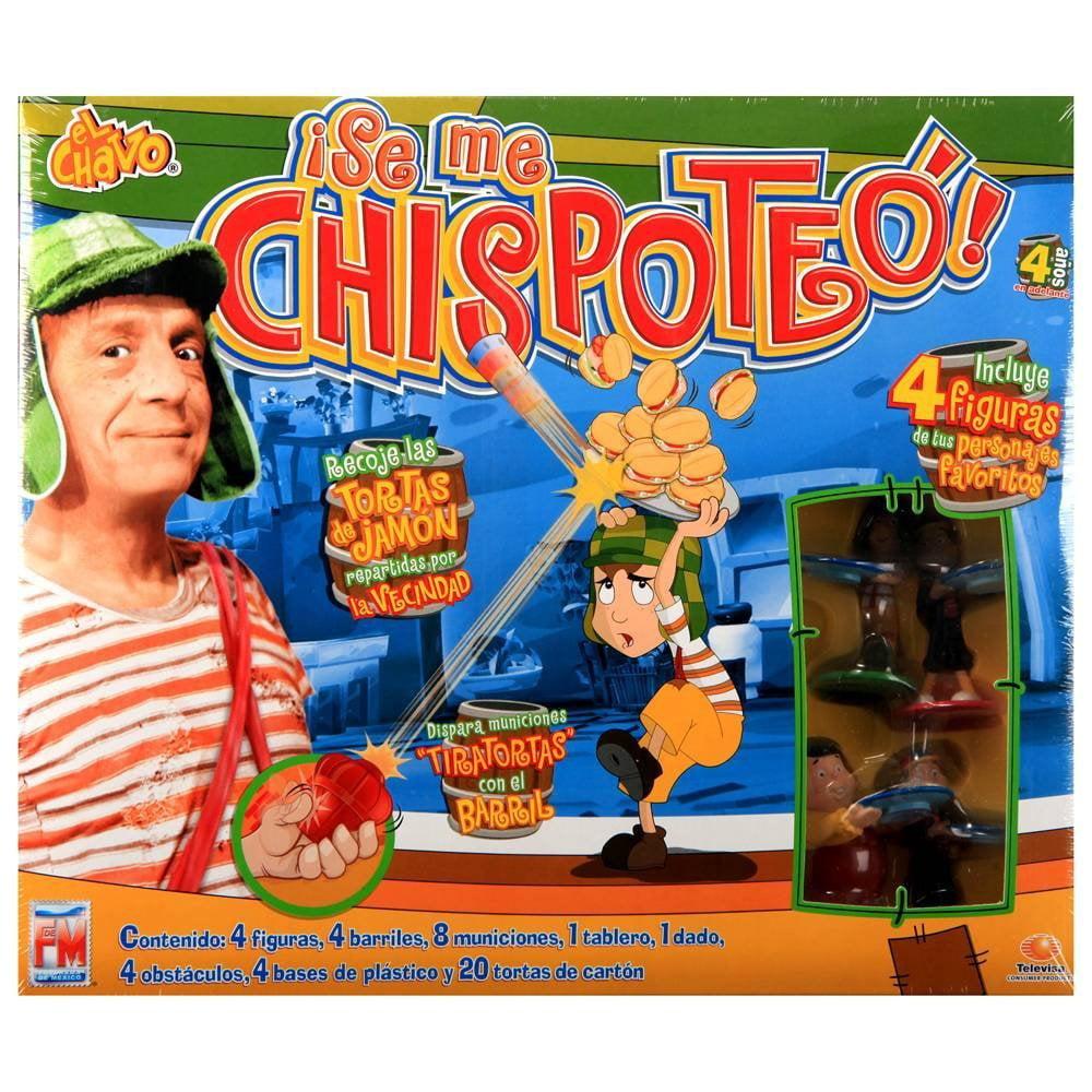 El Chavo Se Me Chispoteo Juego De Mesa Walmart Com