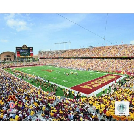 Tcf Bank Stadium University Of Minnesota Golden Gophers 2009 Photo Print