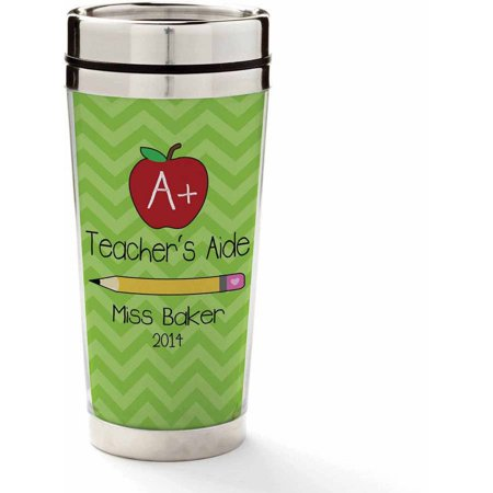Teacher's Aide Gift - Personalized Coffee Travel Mug