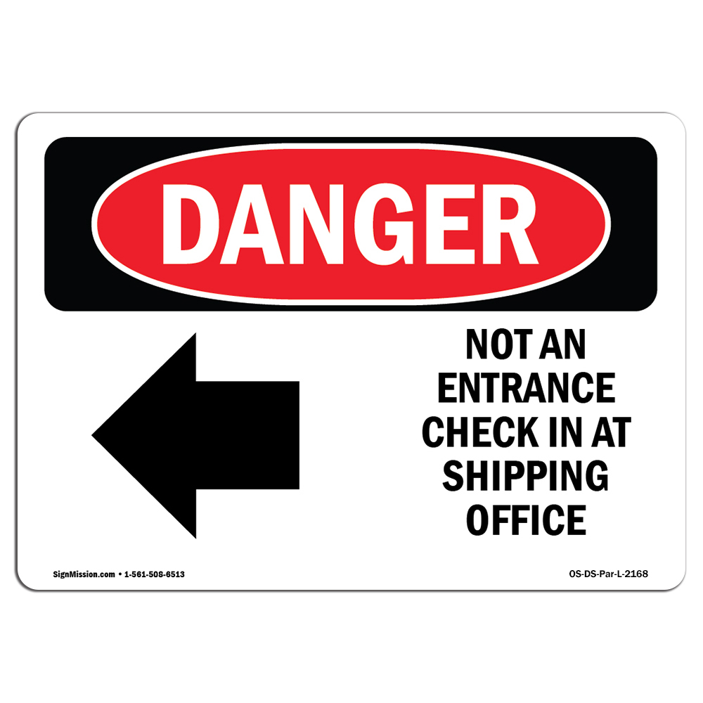 Do Not UseHeavy Duty Sign or Label OSHA Danger Sign