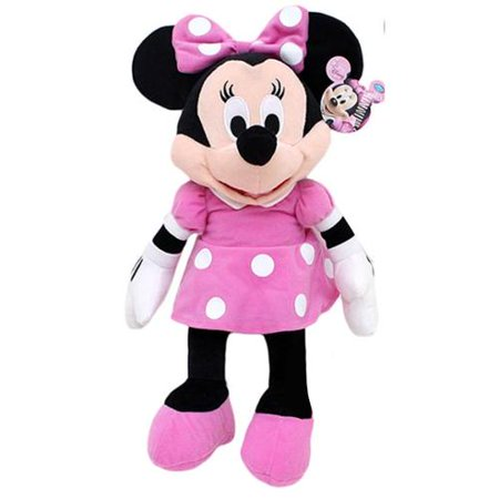 Plush   Disney   Minnie Mouse 16   Pink New Soft Doll Gifts Toys 105227
