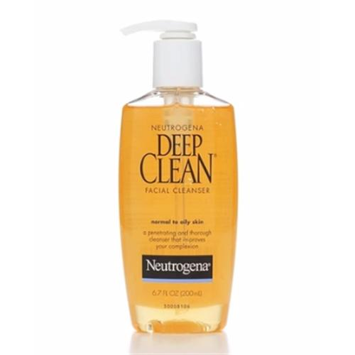 Deep cleanser nuetrogena clean facial
