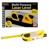 Sterling Tools Laser Level with 8ft Measuring Tape