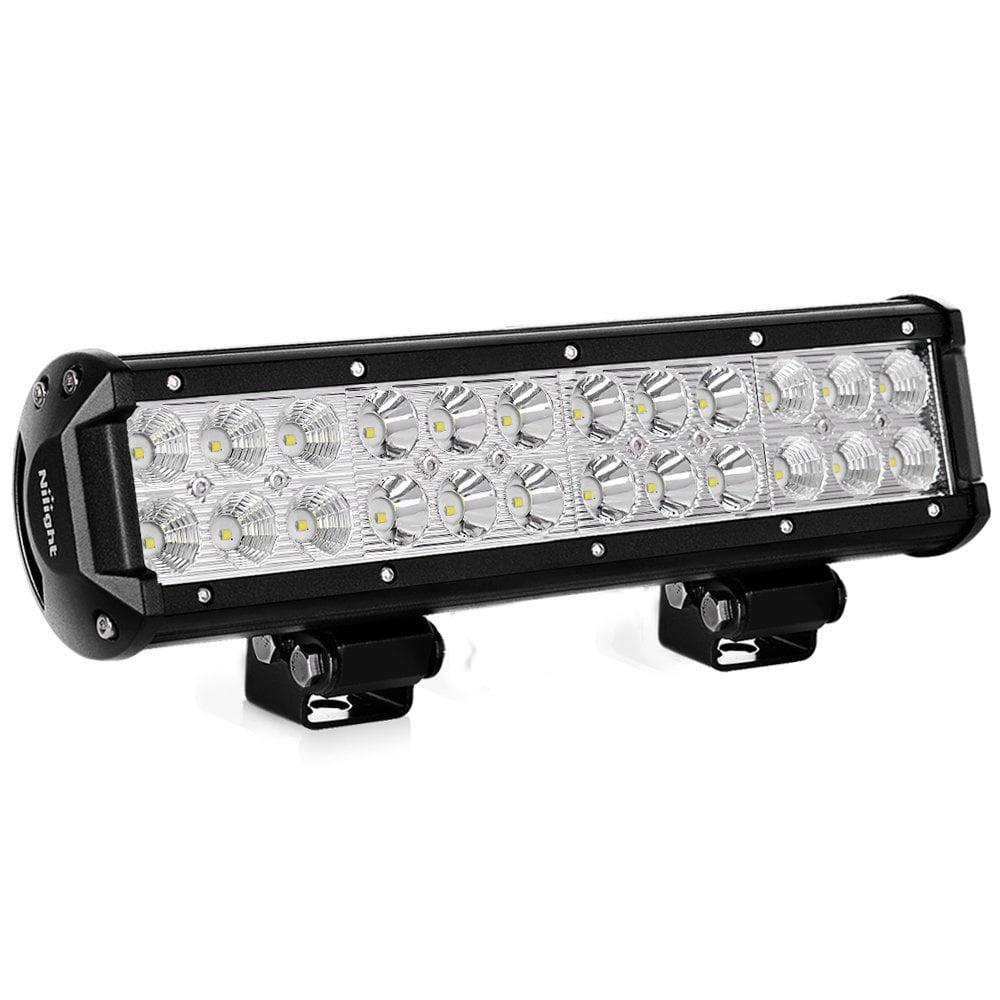 20Inch 126W LED Light Bar Spot Flood Combo Work Light Offroad Fog Lights Truck