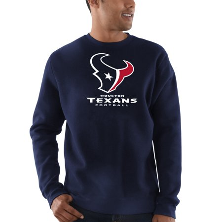 Houston Texans Majestic Critical Victory Sweatshirt - Navy