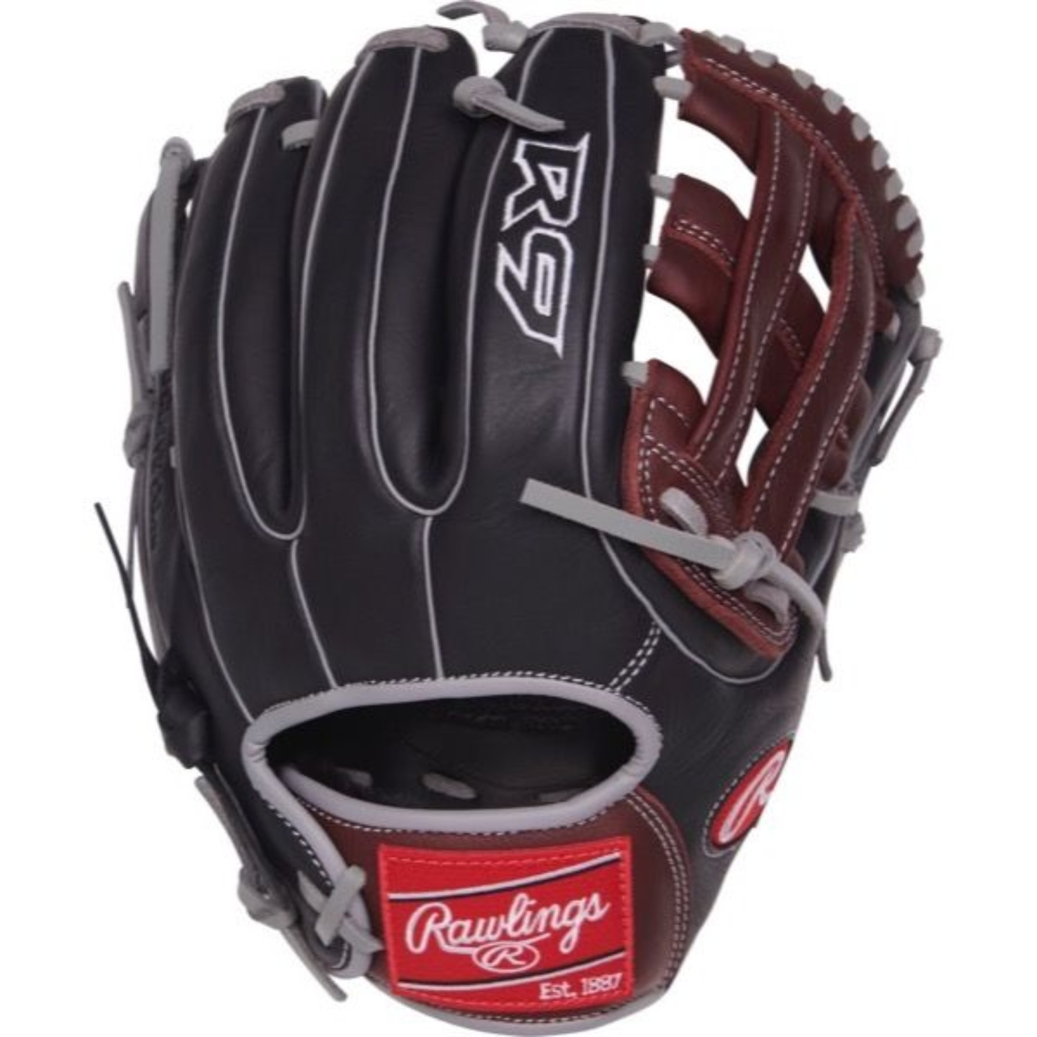 "Rawlings 11.75"" R9 Series Baseball Glove, Right Hand Throw"