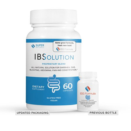 IBSolution for All Natural IBS Relief, 60 Ct (Best Meds For Ibs)
