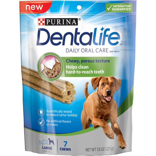 Purina DentaLife Daily Oral Care Large Dog Treats 7 ct Pouch by Nestlé Purina Petcare Company