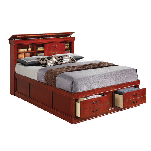 Wildon Home  Louis Storage Panel Bed