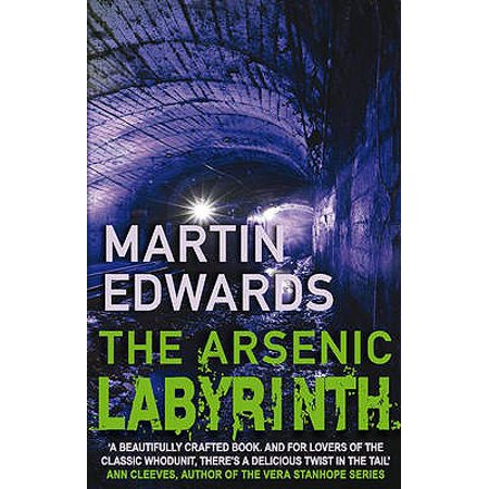 ARSENIC LABYRINTH, THE (Lake District Mysteries) (Paperback) - Lake District Halloween