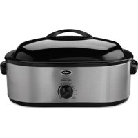 Oster 22 Pound 18 Quart Stainless Steel Roaster Oven with Removable Buffet Server