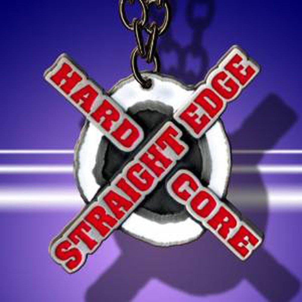 WWE CM Punk Straight Edge Hardcore Logo Pendant