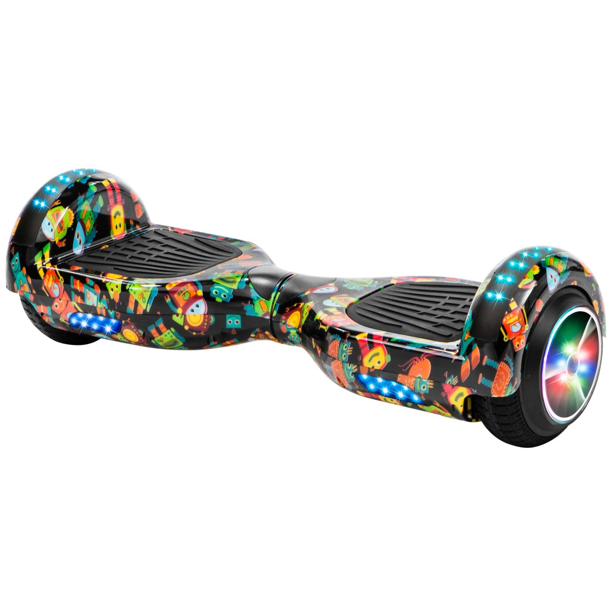 XtremepowerUS Bluetooth Hoverboard w/Speaker Smart Self-Balancing Scooter 2 Wheels Electric Hoverboard UL Certified Matte Purple
