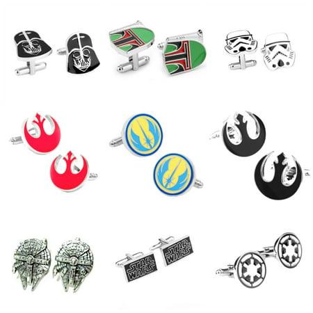 36 Pair Cufflinks (Star Wars Assortment (9 Pair))