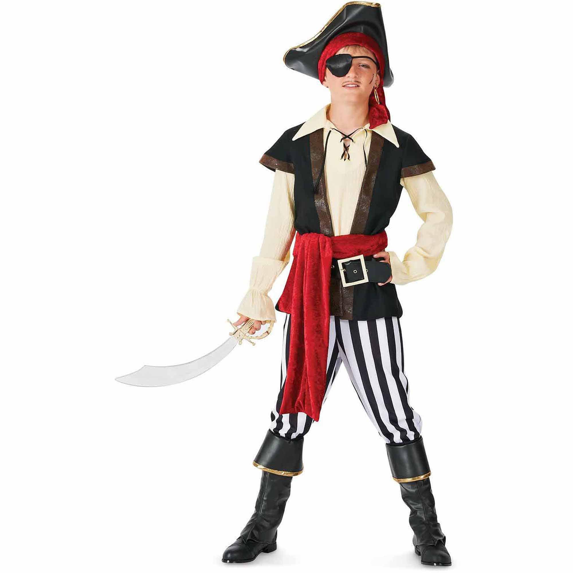 Как создать костюм пирата 45