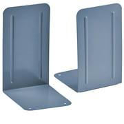 Acrimet Premium Metal Bookends (Heavy Duty) (Blue Color) (1 Pair)