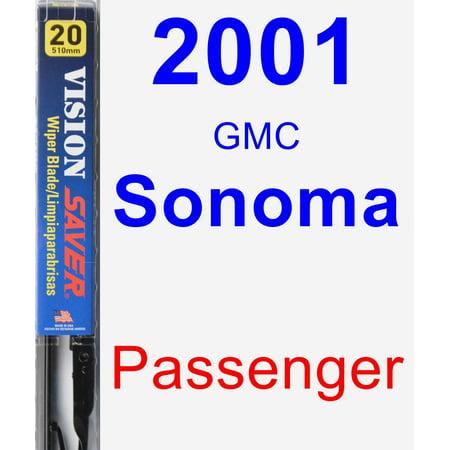 2001 GMC Sonoma Passenger Wiper Blade - Vision Saver Gmc Sonoma Wiper