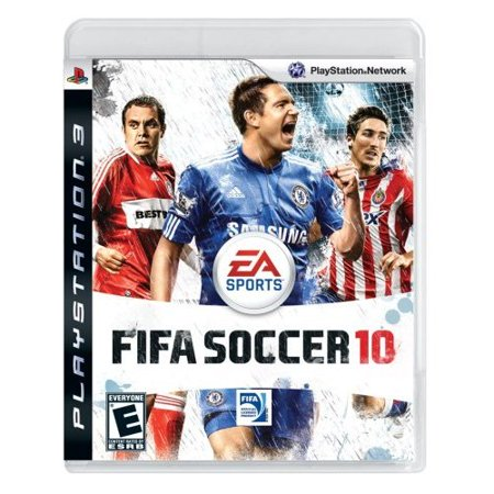 Refurbished FIFA Soccer 10 For PlayStation 3 PS3 With Manual And Case