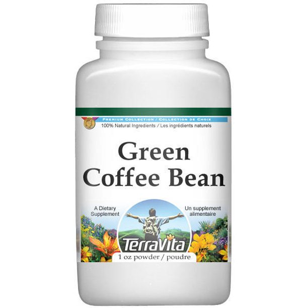 Green Coffee Bean Powder 1 Oz Zin 513657 Walmart Com