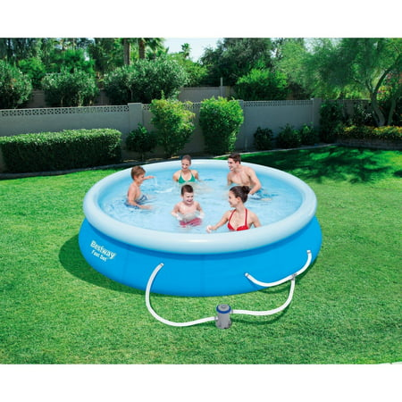 Bestway fast set 12 39 x 30 swimming pool set with filter for Swimming pool set angebot