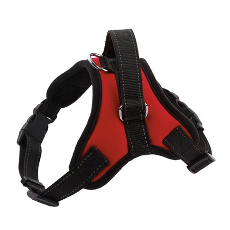New Adjustable  Dog Harness Soft Pet Vest Collar Walk Out Hand Strap Collar Dog Pet Harness
