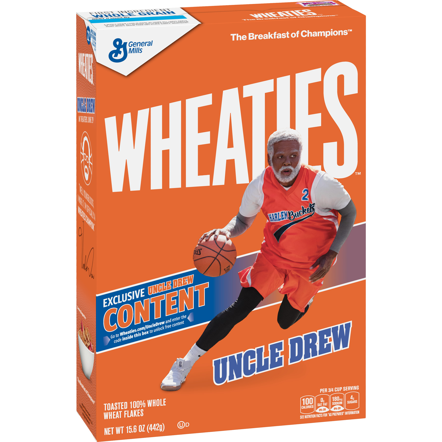 Wheaties Whole Wheat Flakes Cereal 15 6 oz Walmart