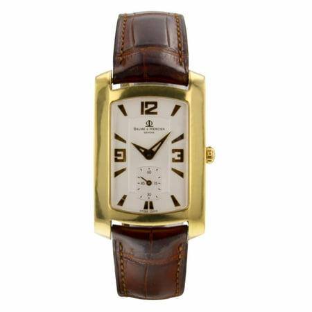 Pre-Owned Baume & Mercier Hampton M0A08241 Gold Women Watch (Certified Authentic & Warranty)