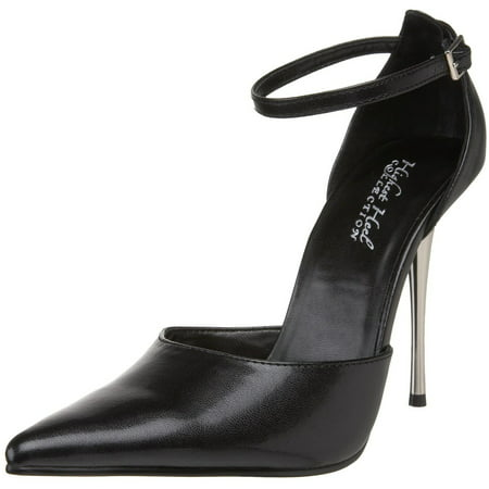 Heel Dorsay Pump - Women's Shoes 4