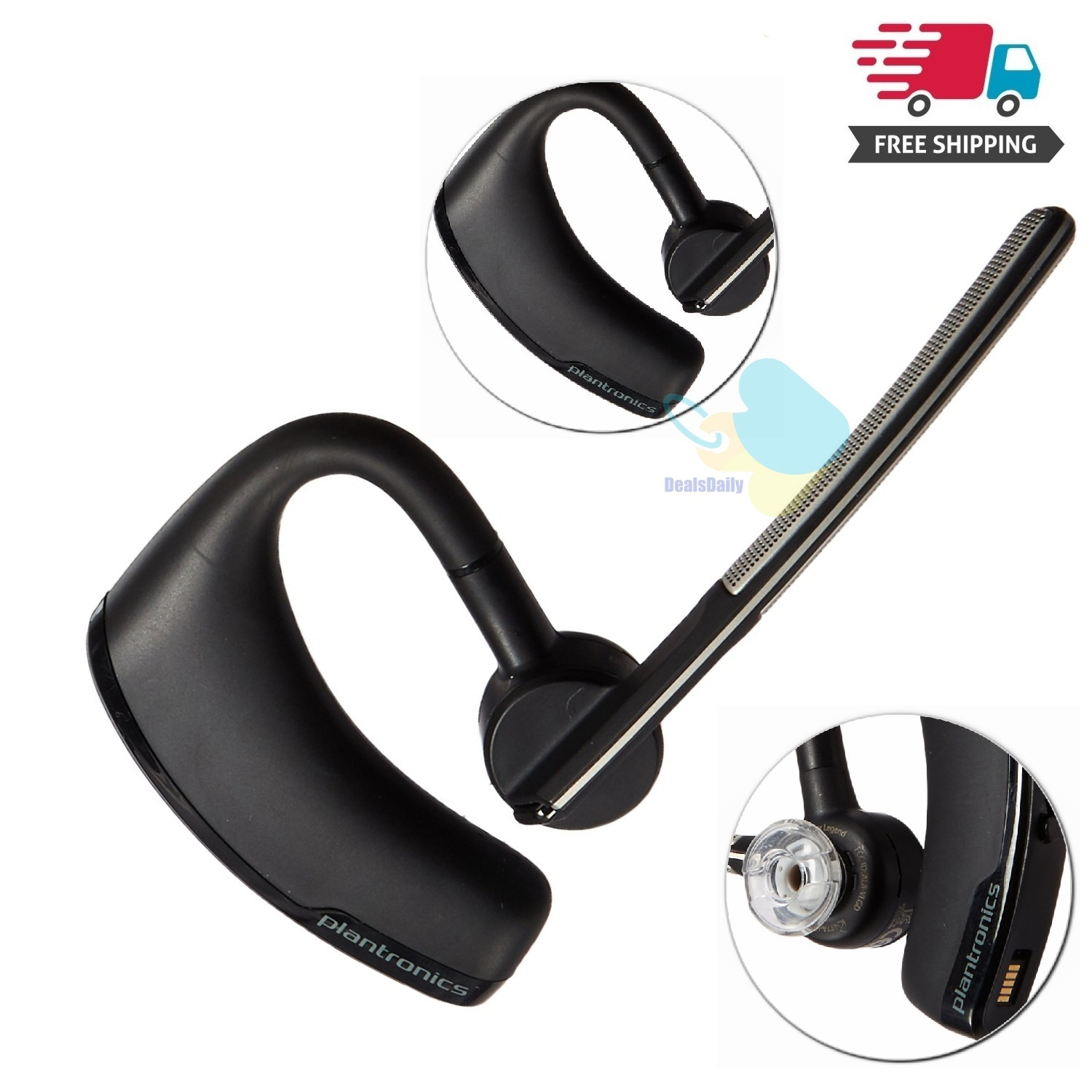 Plantronics Voyager Legend Uc B235 M Bluetooth Headset Retail Packaging Walmart Com Walmart Com