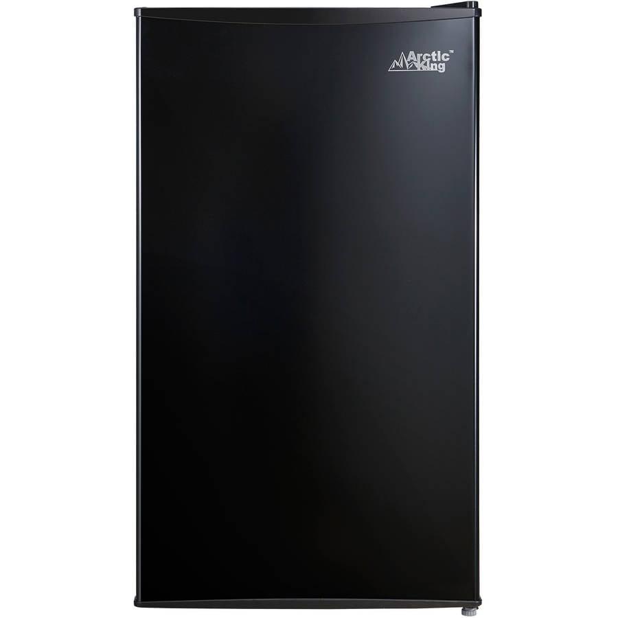 Arctic King 3 3 Cu Ft One Door Compact Refrigerator Black