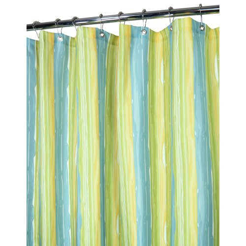 Watershed Washed Stripe Shower Curtain
