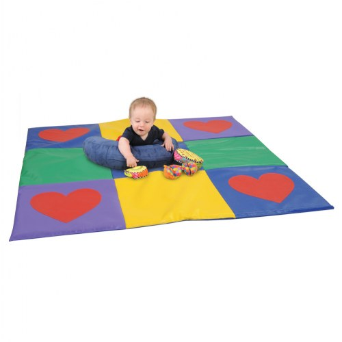 Heart Activity Mat by Kaplan Early Learning Company