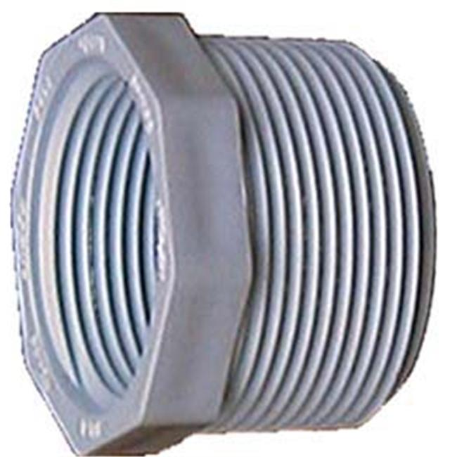 Genova Products PVC Sch.  40 Threaded Reducing Bushings - Pack of 10