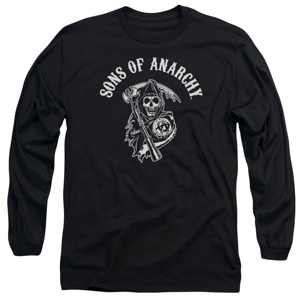 Trevco SONS OF ANARCHY SOA REAPER Black Adult Unisex T-Shirt