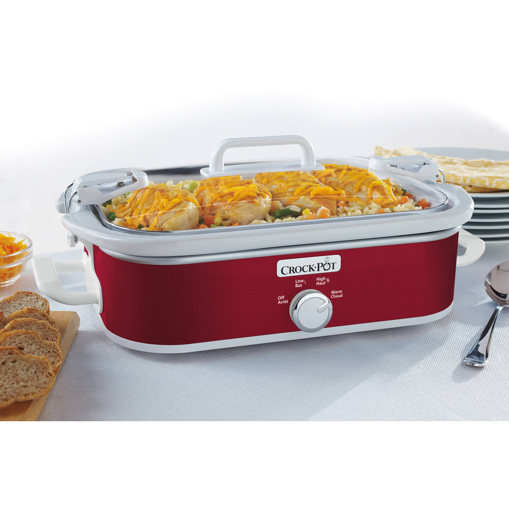 Crock-Pot Casserole Crock 3.5-Quart Slow Cooker
