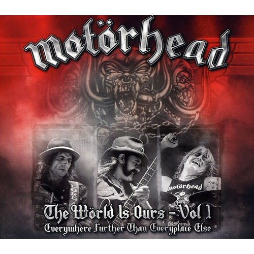 MOTORHEAD: THE WORLD IS OURS, VOL. 1 [DVD BOXSET] [CD/DVD]