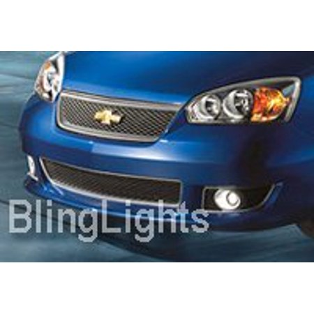 New 2004 2005 2006 2007 Chevrolet Chevy Malibu Xenon Fog Lamps Driving Lights Foglamps Foglights (Chevrolet Malibu Fog Light Lamp)