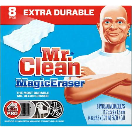 先生先生清洁魔术橡皮擦垫,8计数