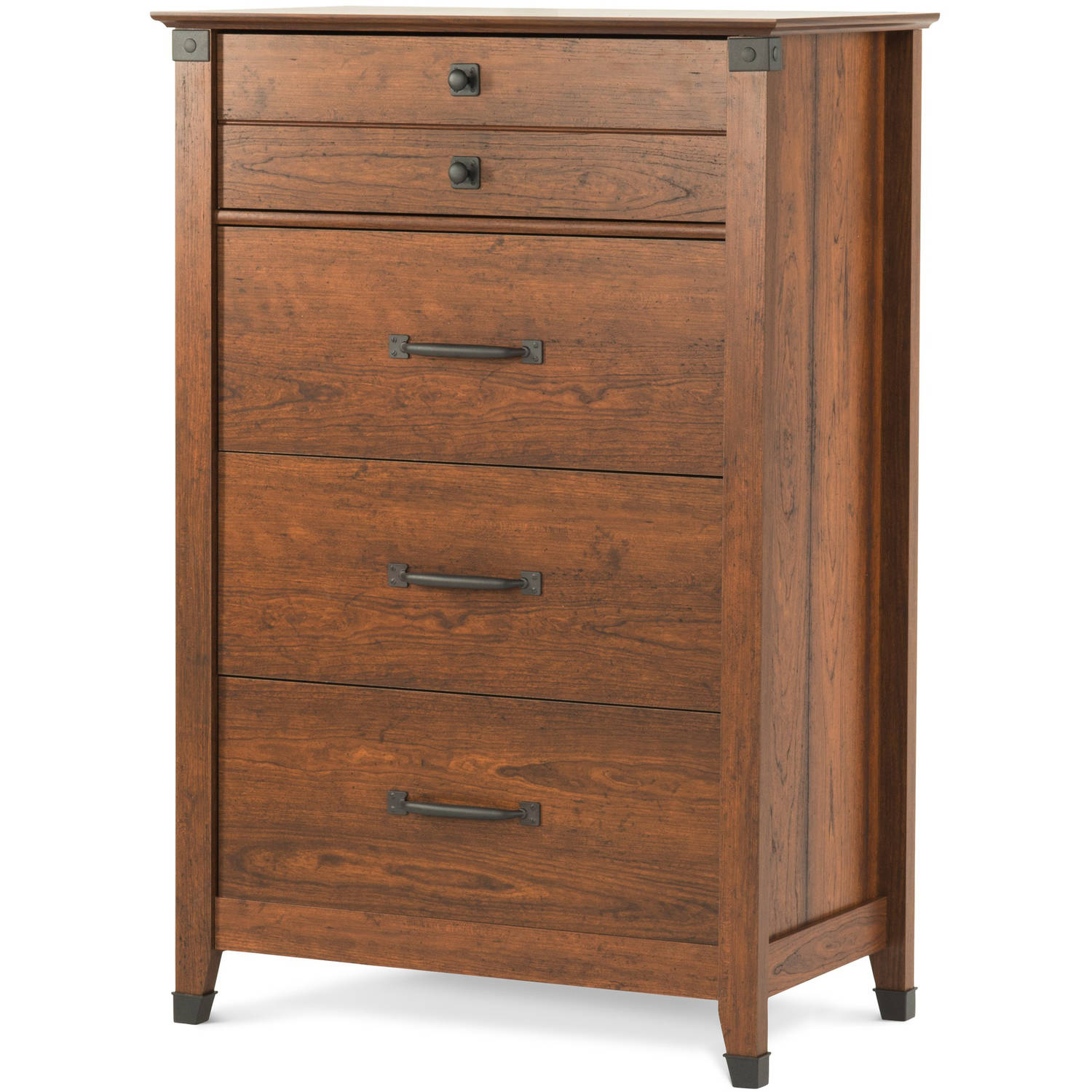 Child Craft Redmond Ready to Assemble 4-Drawer Chest, Coach Cherry