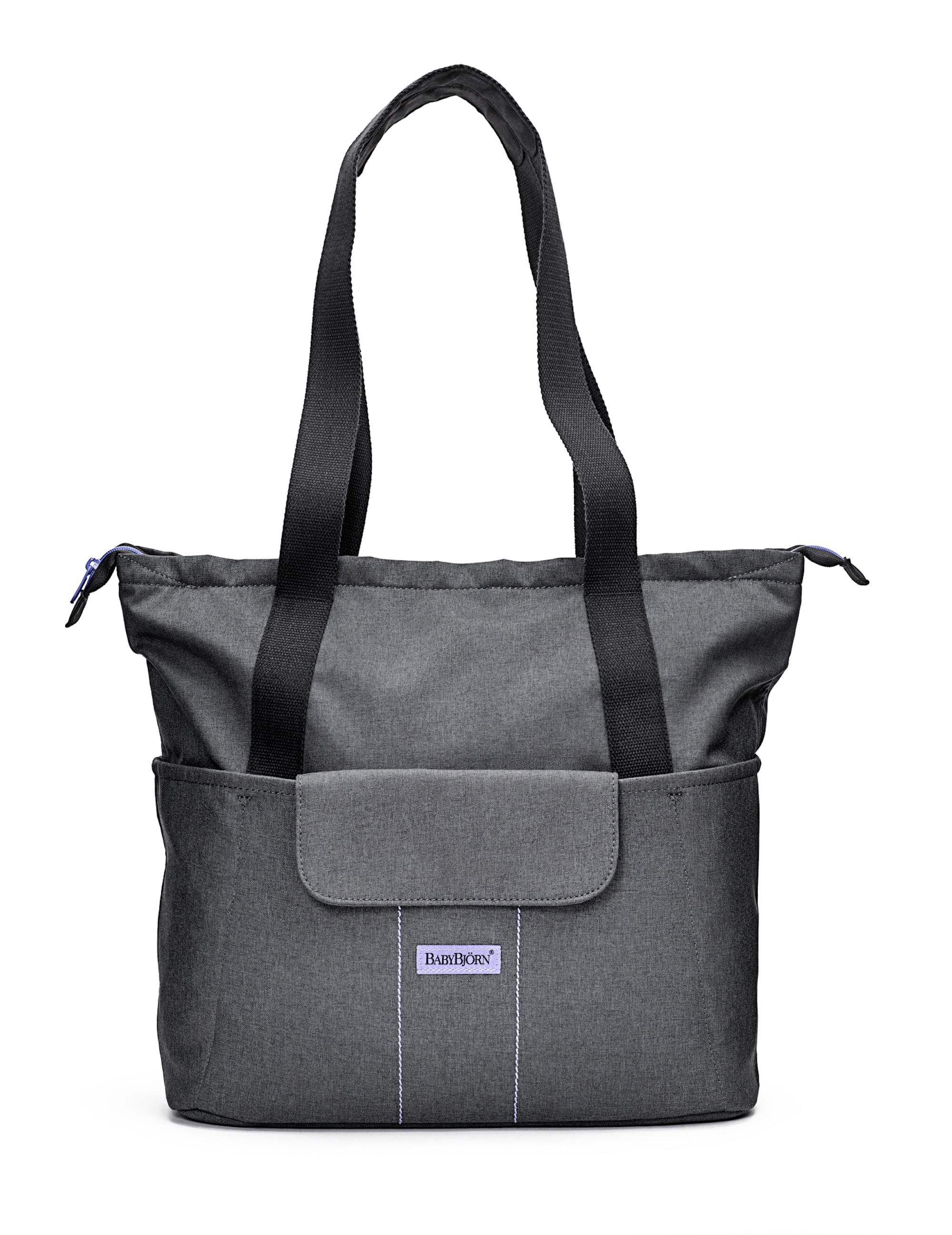 BabyBjorn Diaper Bag SoFo Gray Lavender by BabyBj%C3%B6rn