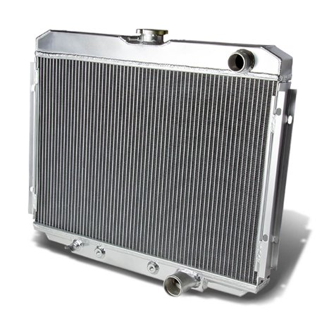 For 1967 to 1970 Ford Mustang 3 -Row Full Aluminum Racing Radiator 68 69 (Ford Mustang Radiator Kit)