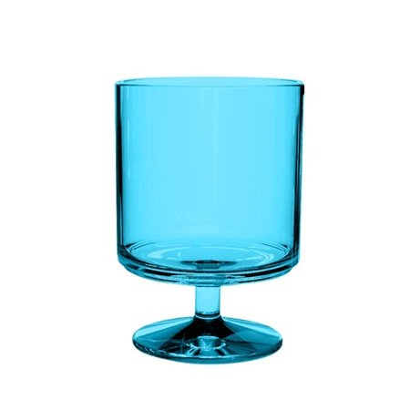 Brayden Studio Hubbert 4-Piece Plastic Goblet Set (Set of 6) (Plastic Goblet)