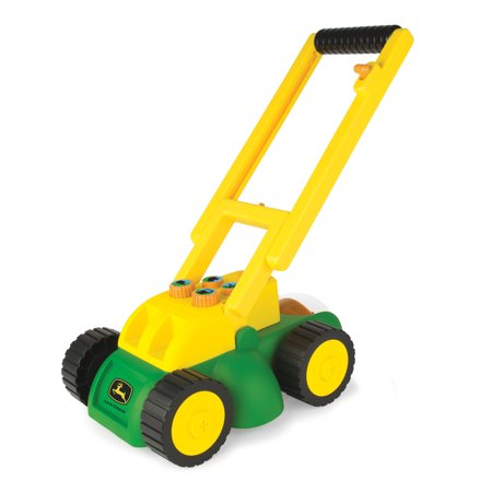 John Deere Real Sounds Electronic Lawnmower Role Play Push Toy With Real Mower